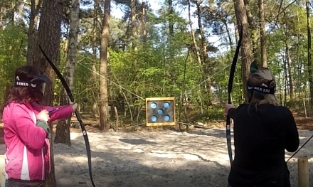 Teamuitje archery tag