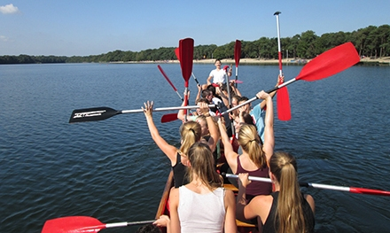 school-drakenboot-varen